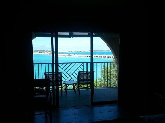 Grotto Bay Beach Resort: Our View :-)