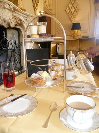 Heddon-on-the-Wall, UK: cream tea