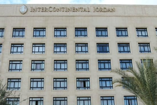 InterContinental Jordan: Front of hotel