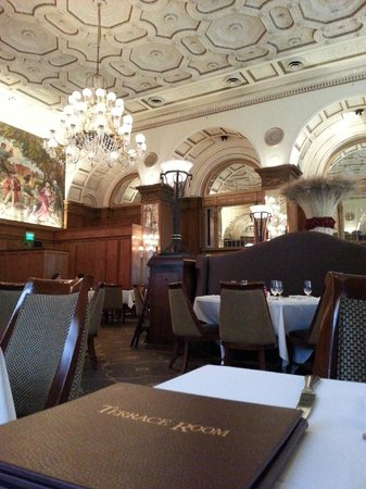 Omni William Penn Hotel: Terrace room - where fabulous breakfast is served
