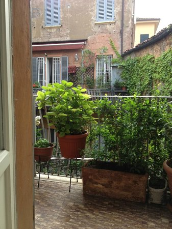 Antica Residenza d'Azeglio : View from our bed
