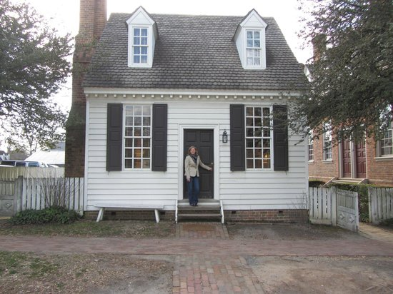 Brick Shop House Colonial Williamsburg Picture Of