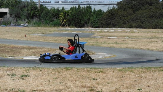 Redwood City, Kalifornien: Go Kart