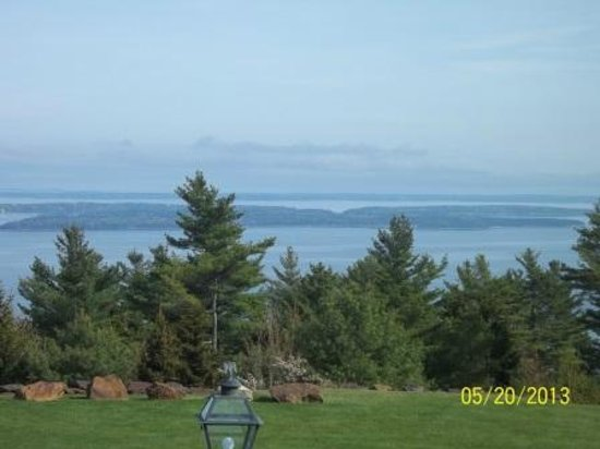 Point Lookout Resort and Conference Center: The view from the veranda