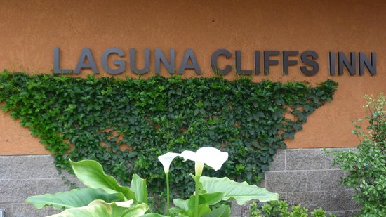 Laguna Cliffs Inn: Lots of gorgeous flowers