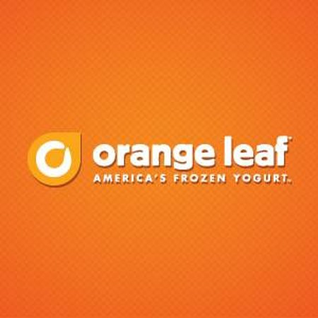 orange with leaf logo