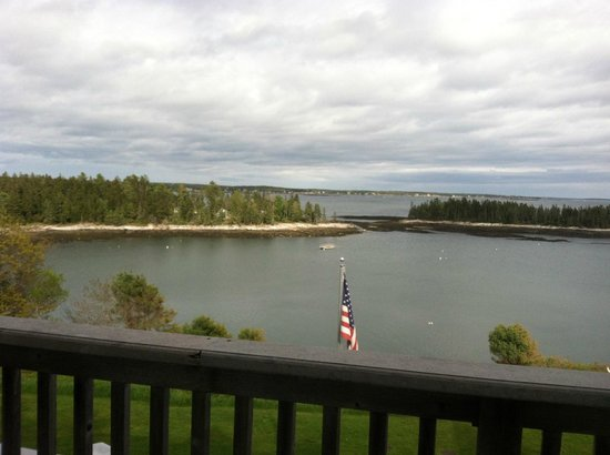 Georgetown, ME: our view from our balcony!