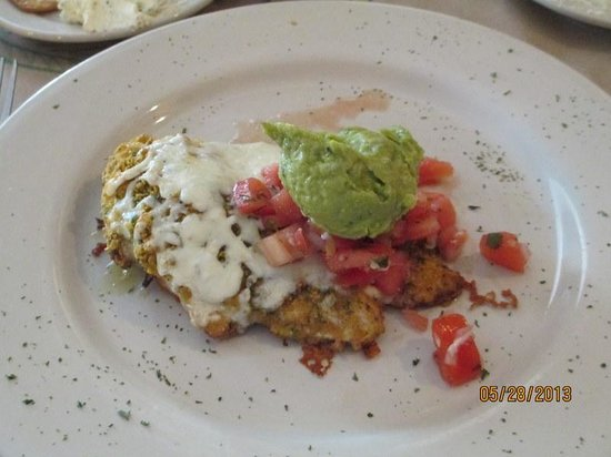 Ashland, NH: Tortilla Crusted Chicken