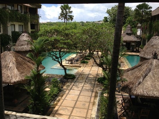 Benoa, Indonesia: View from the lobby