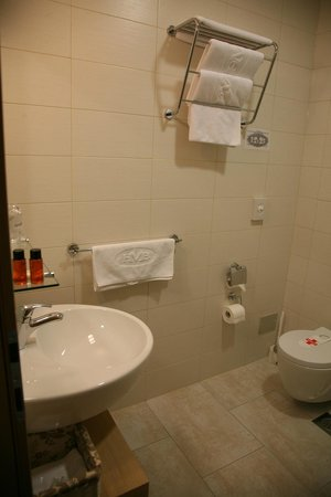Hotel Mangart: Bathroom