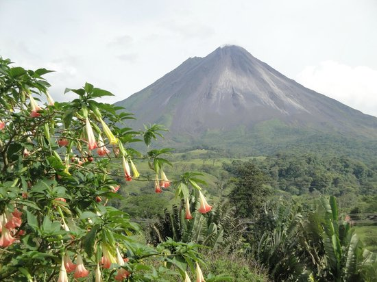 Montana de Fuego Hotel & Spa: Arenal - from my front window!