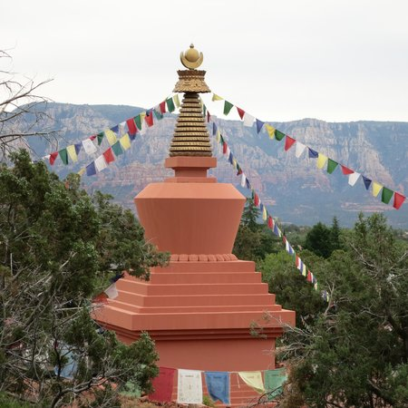 Adobe Grand Villas: Amitabha Stupa