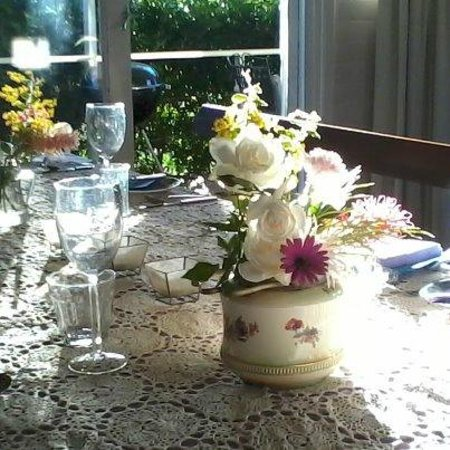 Boonah, Australia: The table is set