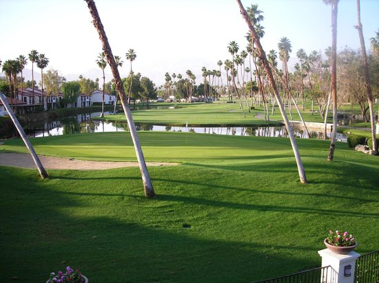 Rancho Las Palmas Resort & Spa: View from the room.