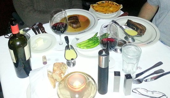 The San Luis Resort: Dinner from the Steakhouse