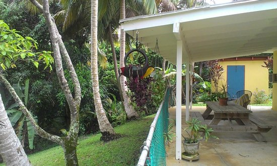 On the grounds of  Ceiba Country Inn