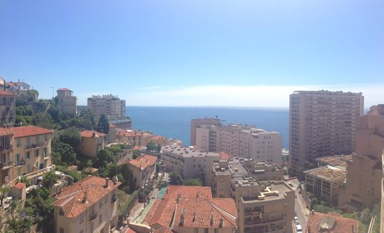 Beausoleil, Monaco: View from the Balcony