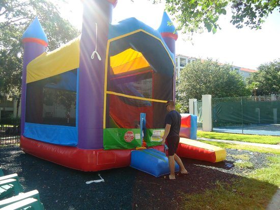 Star Island Resort and Club: Bouncy castle