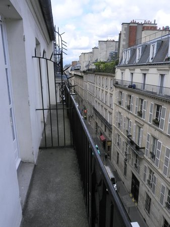 Duminy Vendome: Delux Room - 5th floor balcony