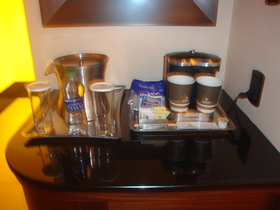 Hilton Trinidad and Conference Centre: Coffee and tea
