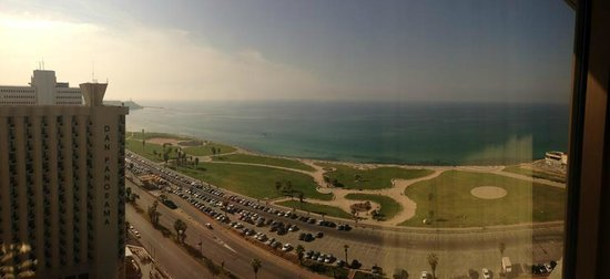 InterContinental David Tel Aviv : View from Room 2131 - Dan Panorama