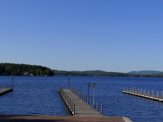 Wolfeboro, NH: View from the deck