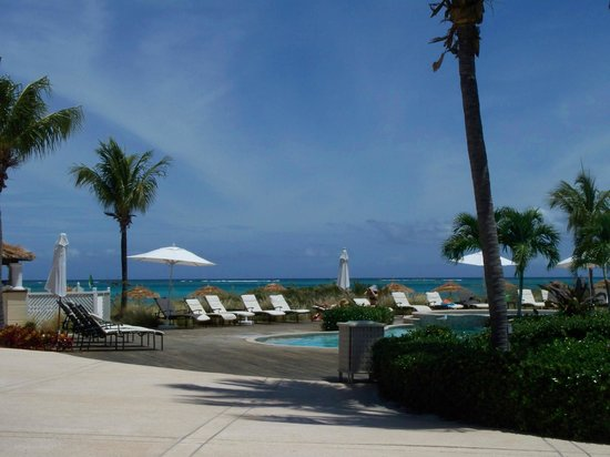 Sands at Grace Bay: One of the pools near restaurant/beach