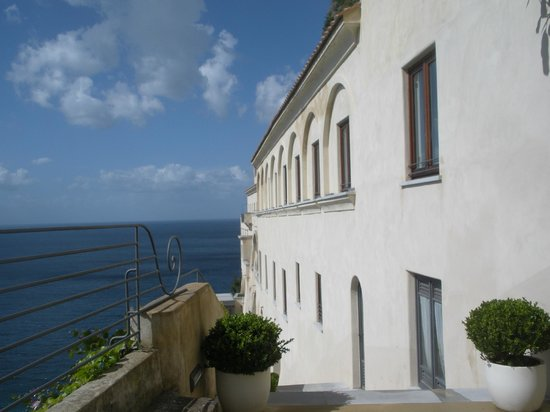 Grand Hotel Convento di Amalfi: Outside view from our room