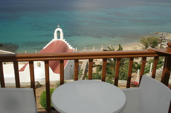Mykonos Grand Hotel & Resort: room view