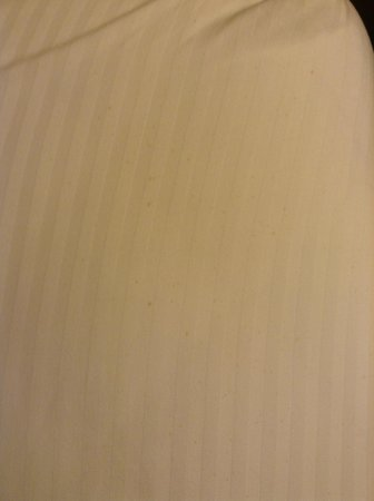 Days Inn Fort Walton Beach: Stains on Sheets
