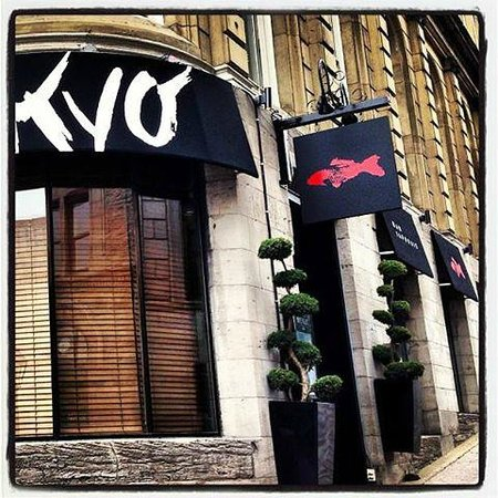 Kyo bar japonais montreal centre ville downtown for Aix cuisine du terroir restaurant montreal
