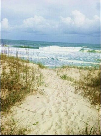 Topsail Island, NC: right out our back door!
