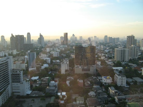 Sukhumvit Park, Bangkok - Marriott Executive Apartments: View from our apartment
