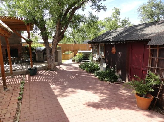 Clarkdale, AZ: rear patio