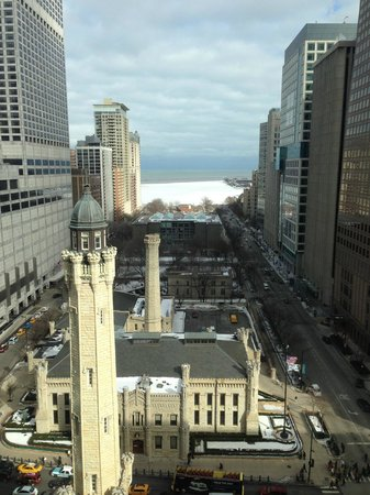 Park Hyatt Chicago: View of Water Tower From Hotel Room