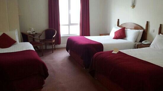 Camden Court Hotel: Bedroom for one! :-)
