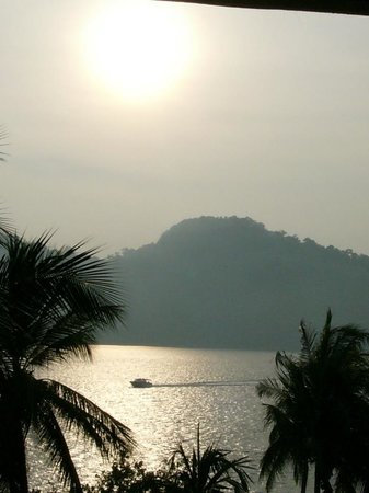 Pangkor Laut Resort: View from the room.