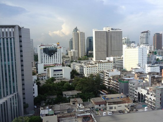 JW Marriott Hotel Bangkok: View from room