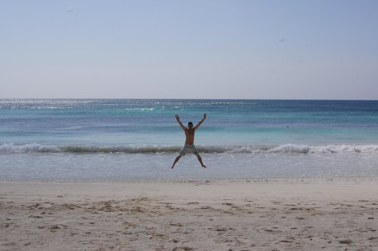 Ahau Tulum: Having fun at the beach