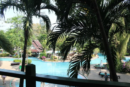 Green Park Resort: another view from our room