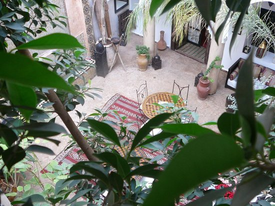 Riad Mur Akush: Relaxing area