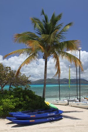 The Ritz-Carlton, St. Thomas: Beach area