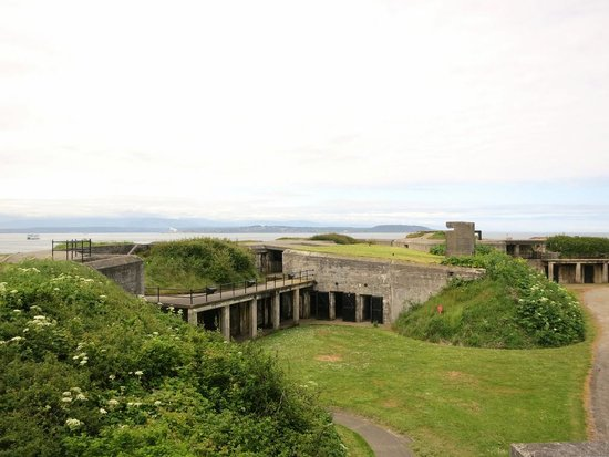 Coupeville, WA: Fort Casey fortifications