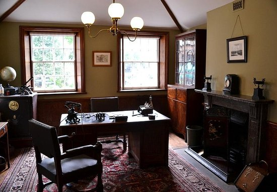 Cheshire, UK: The Mill Managers office