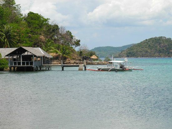 Chindonan Island Resort & Divecenter: view