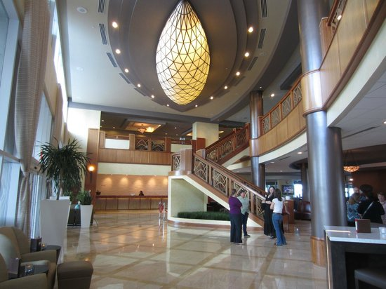 Marriott Suites Clearwater Beach on Sand Key: Lobby!