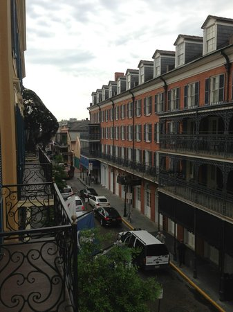 Hotel Mazarin: view from the balcony