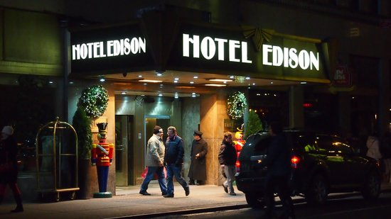 Edison Hotel Times Square : Entrance
