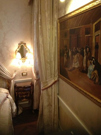 Hotel Canal Grande: The room decor