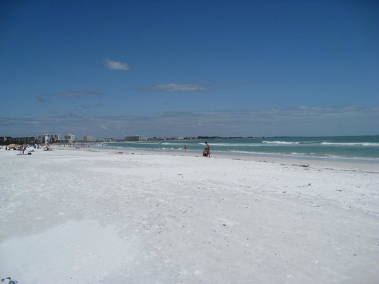 Sea Spray Resort on Siesta Key: View of the Siesta Key Beach